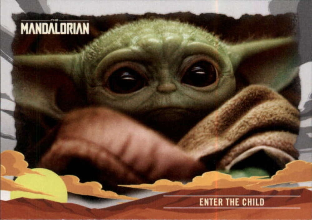 2020 Topps The Mandalorian Journey of the Child
