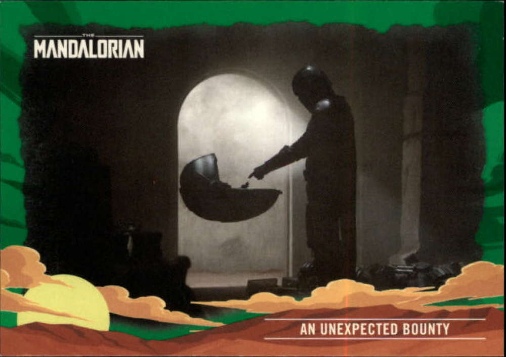 2020 Topps The Mandalorian Journey of the Child Green