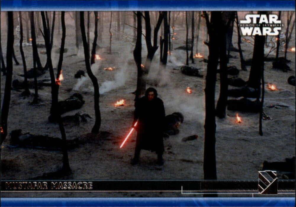2020 Topps Star Wars The Rise of Skywalker Series 2 Blue