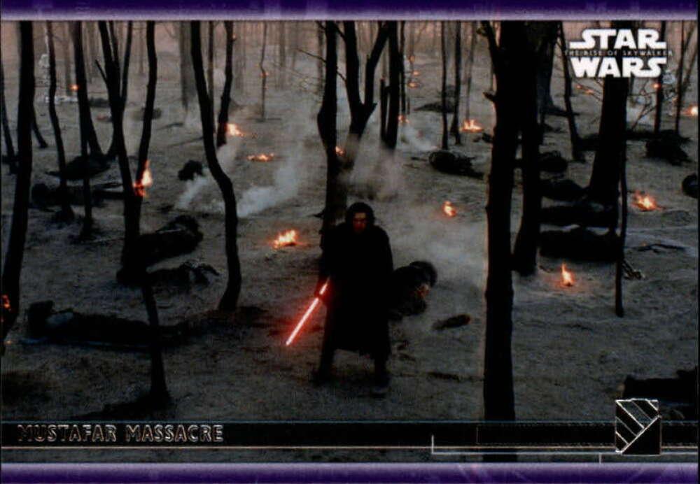 2020 Topps Star Wars The Rise of Skywalker Series 2 Purple