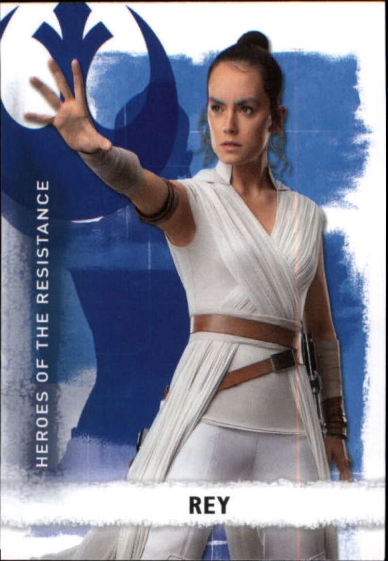 2020 Topps Star Wars The Rise of Skywalker Series 2 Heroes of the Resistance