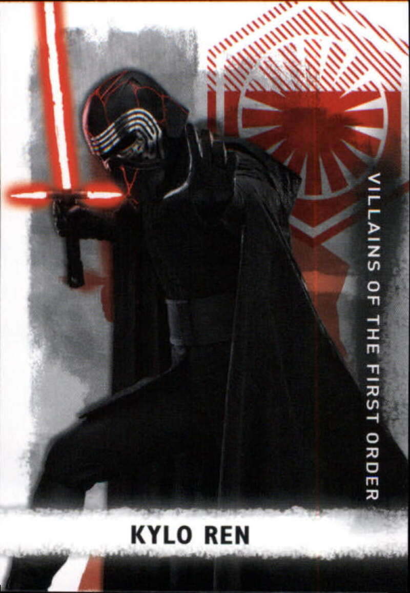 2020 Topps Star Wars The Rise of Skywalker Series 2 Villains of The First Order