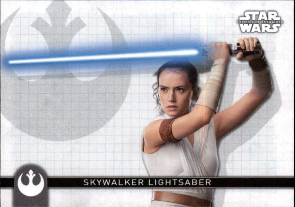 2020 Topps Star Wars The Rise of Skywalker Series 2 Weapons