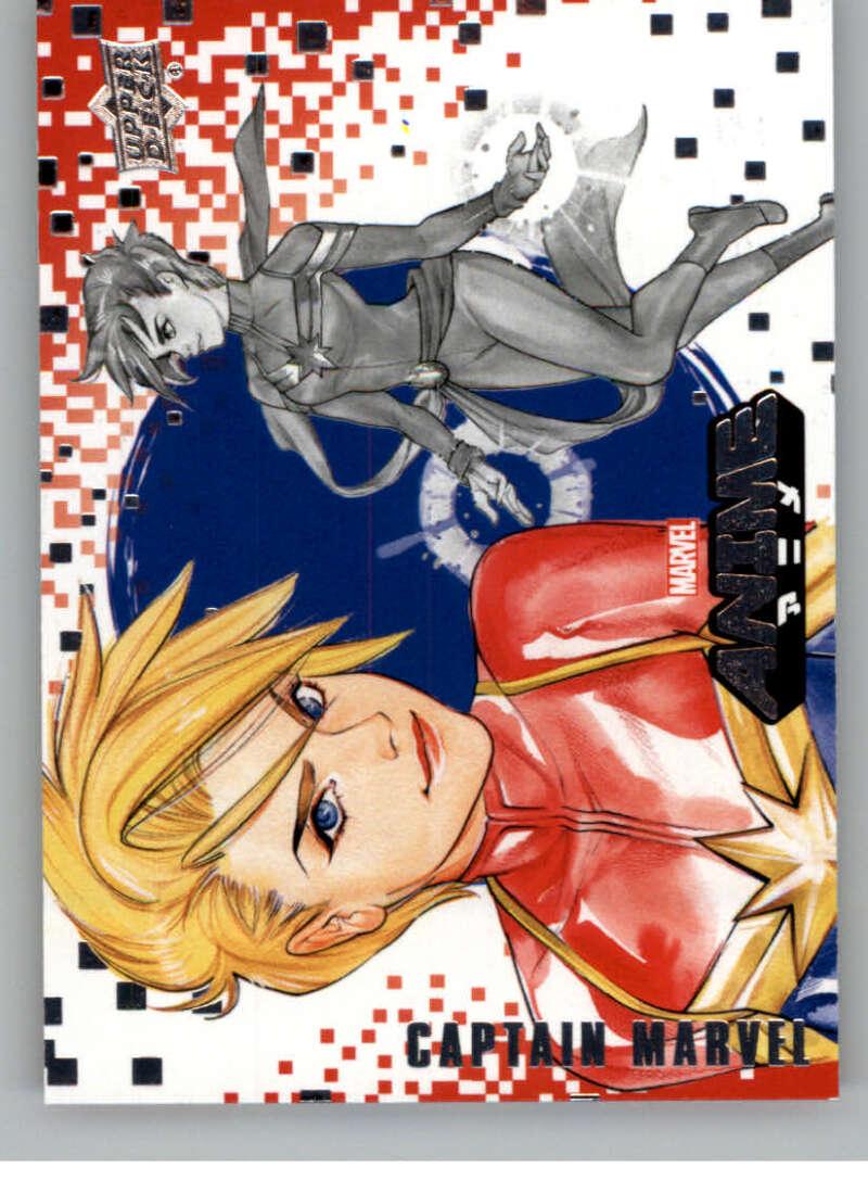 2020 Upper Deck Marvel Anime