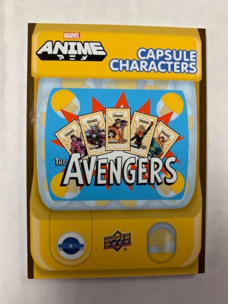 2020 Upper Deck Marvel Anime Capsule Characters Gold