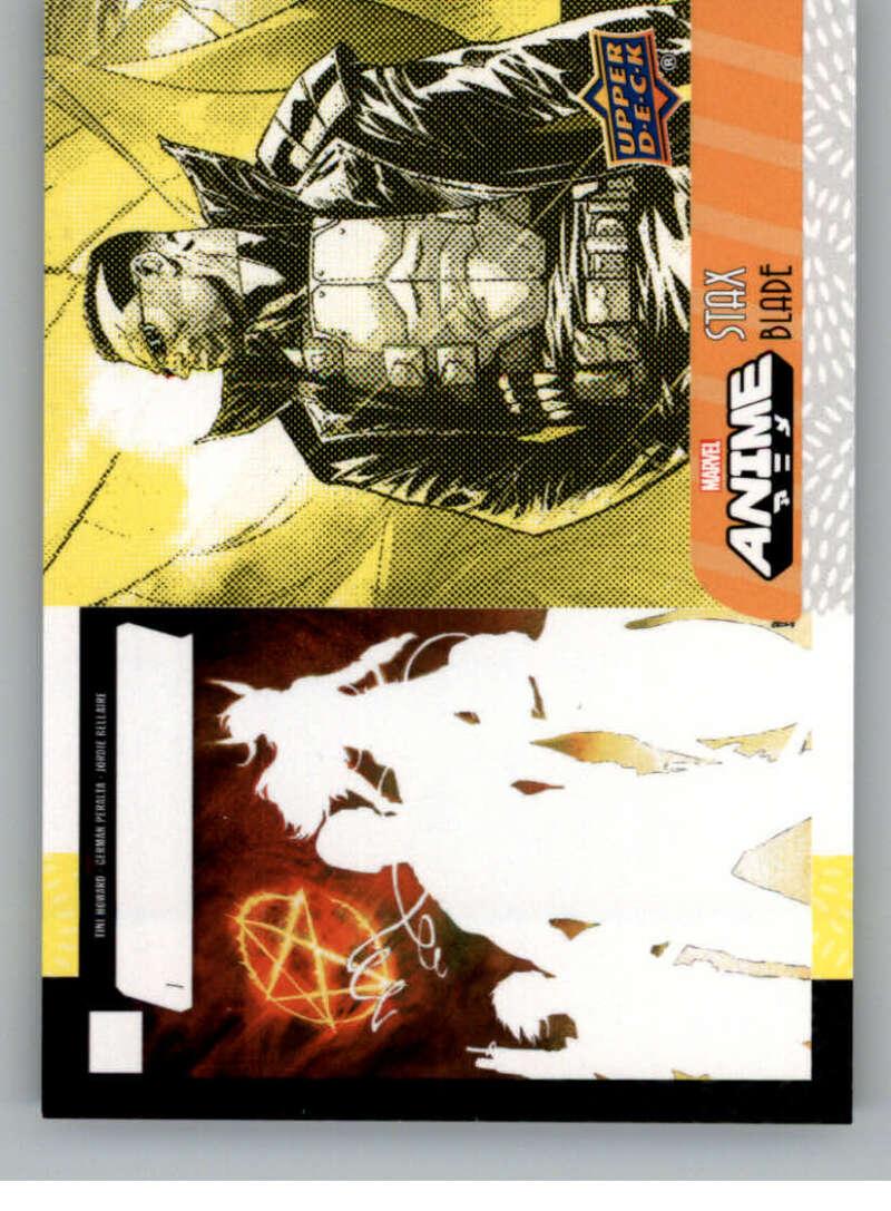 2020 Upper Deck Marvel Anime Stax - Bottom Layer