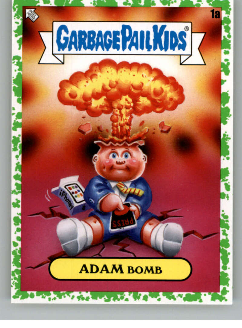 2020 Topps Garbage Pail Kids Series 2 Booger Green