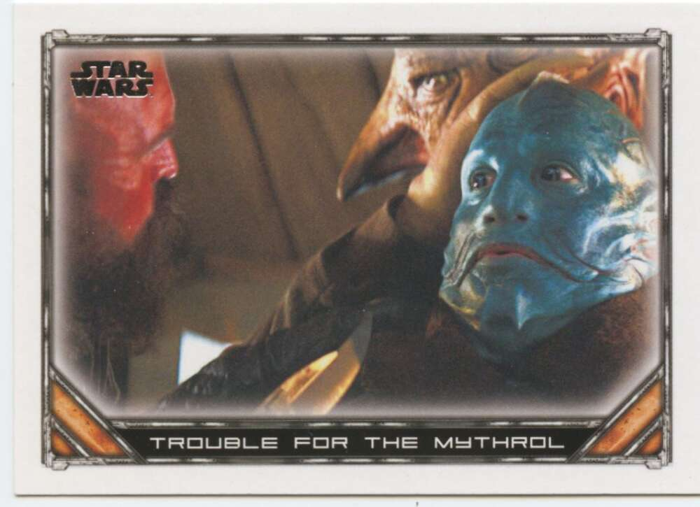 2020 Topps Star Wars The Mandalorian Season 1