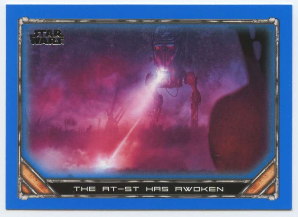2020 Topps Star Wars The Mandalorian Season 1 Blue