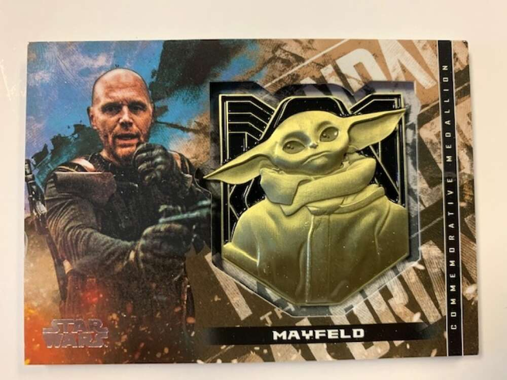 2020 Topps Star Wars The Mandalorian Season 1 Commemorative Medallion Relics Bronze
