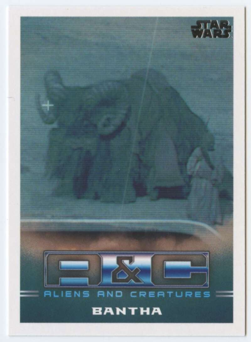 2020 Topps Star Wars The Mandalorian Season 1 Aliens and Creatures