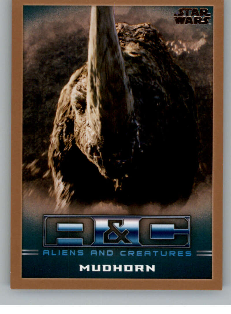 2020 Topps Star Wars The Mandalorian Season 1 Aliens and Creatures Bronze