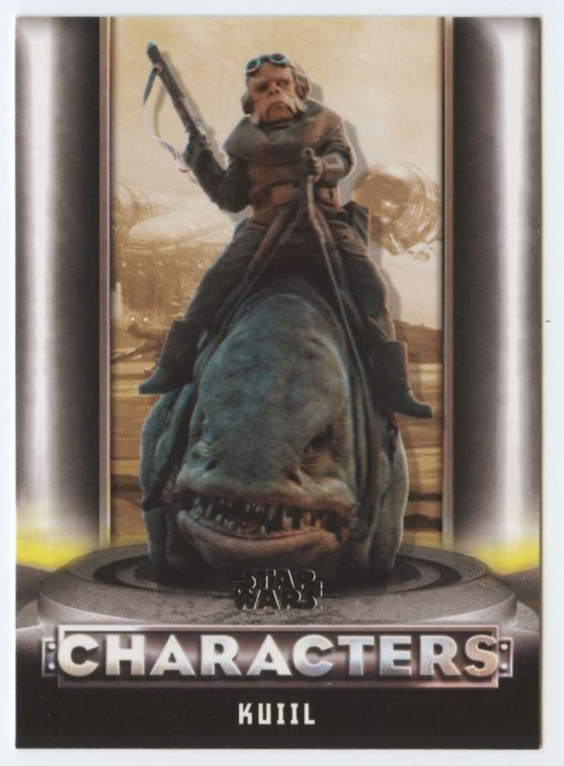 2020 Topps Star Wars The Mandalorian Season 1 Characters