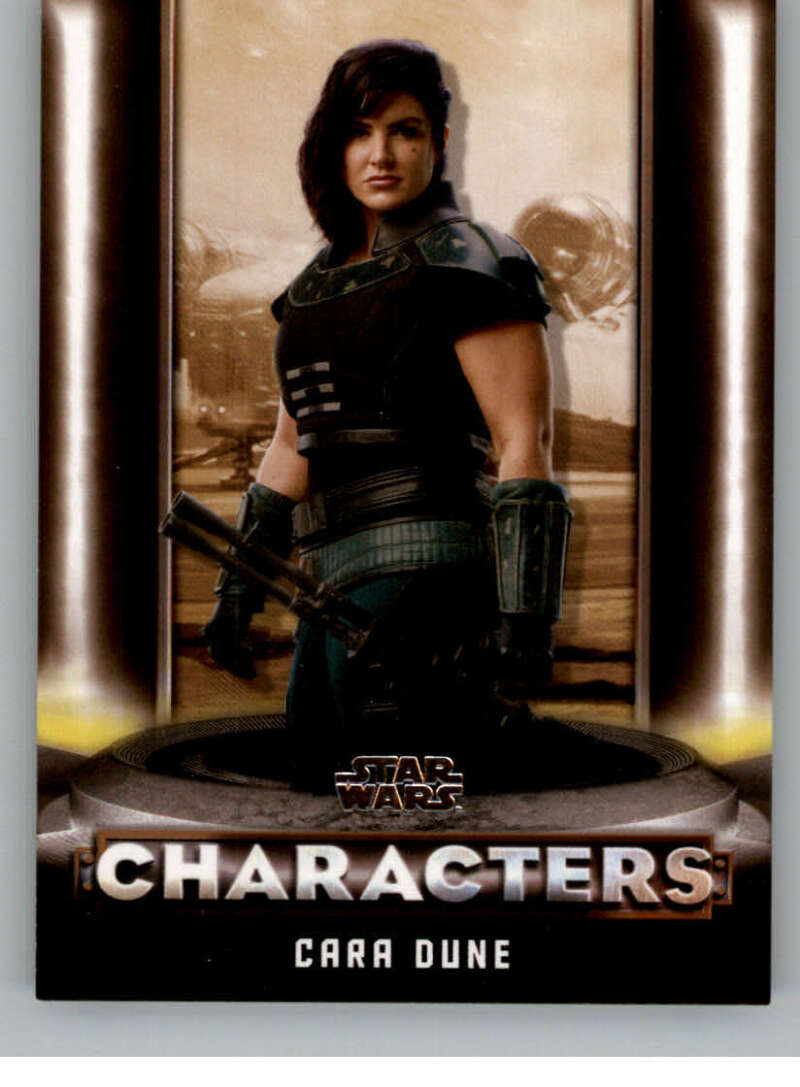 2020 Topps Star Wars The Mandalorian Season 1 Characters Bronze