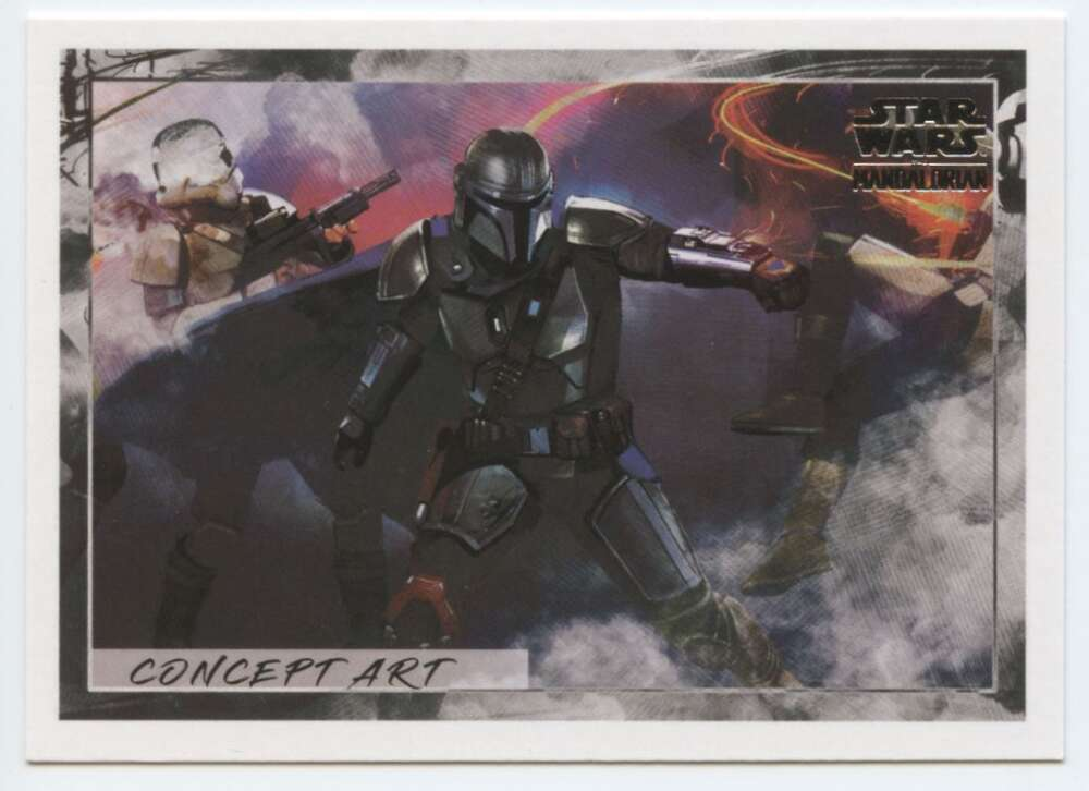 2020 Topps Star Wars The Mandalorian Season 1 Concept Art