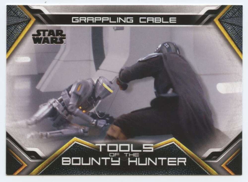 2020 Topps Star Wars The Mandalorian Season 1 Tools of the Bounty Hunter