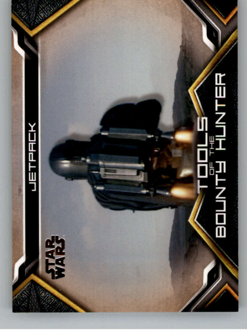 2020 Topps Star Wars The Mandalorian Season 1 Tools of the Bounty Hunter Bronze
