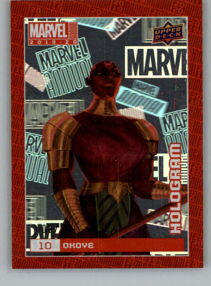 2020 Upper Deck Marvel Annual Hologram