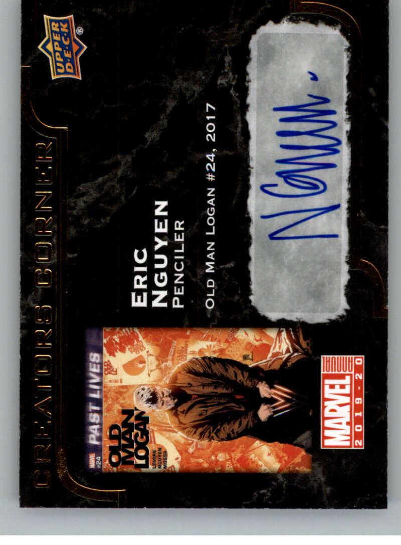 2020 Upper Deck Marvel Annual Creators Corner Autographs