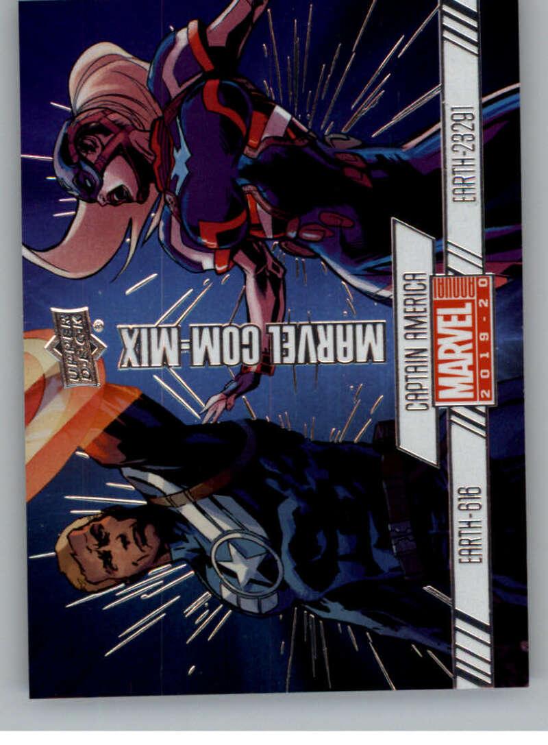 2020 Upper Deck Marvel Annual Marvel Com-Mix