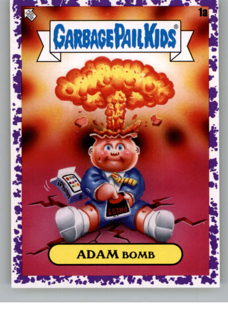 2020 Topps Garbage Pail Kids Series 2 Jelly Purple
