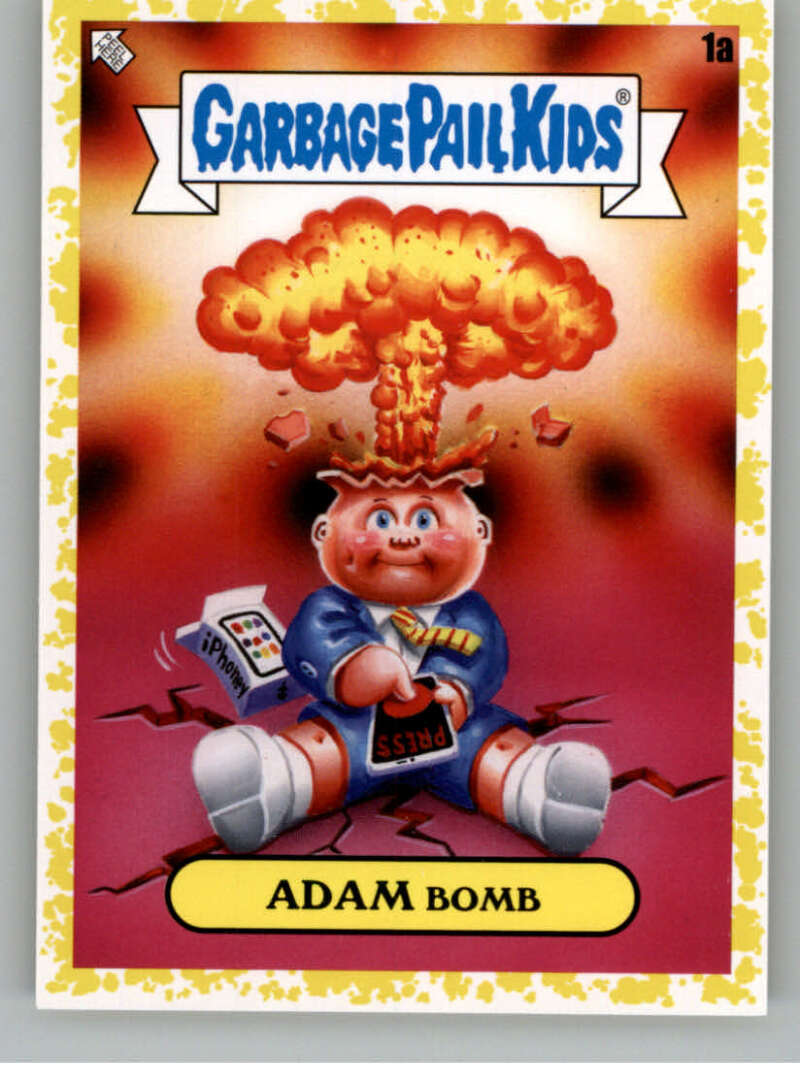 2020 Topps Garbage Pail Kids Series 2 Phlegm Yellow
