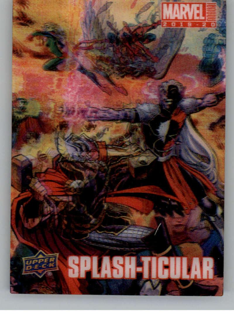2020 Upper Deck Marvel Annual Splash-Ticular