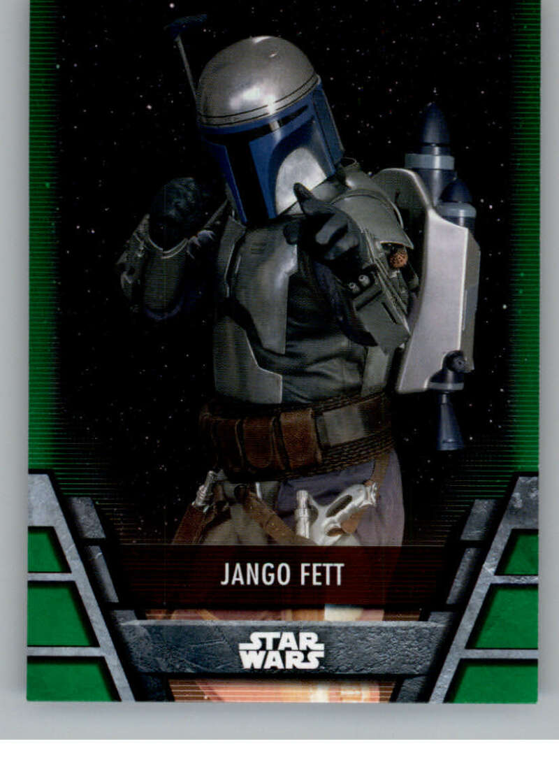 2020 Topps Star Wars Holocron Series Green