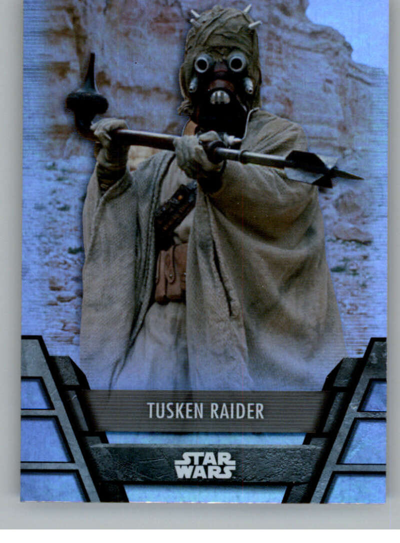 2020 Topps Star Wars Holocron Series Foilboard