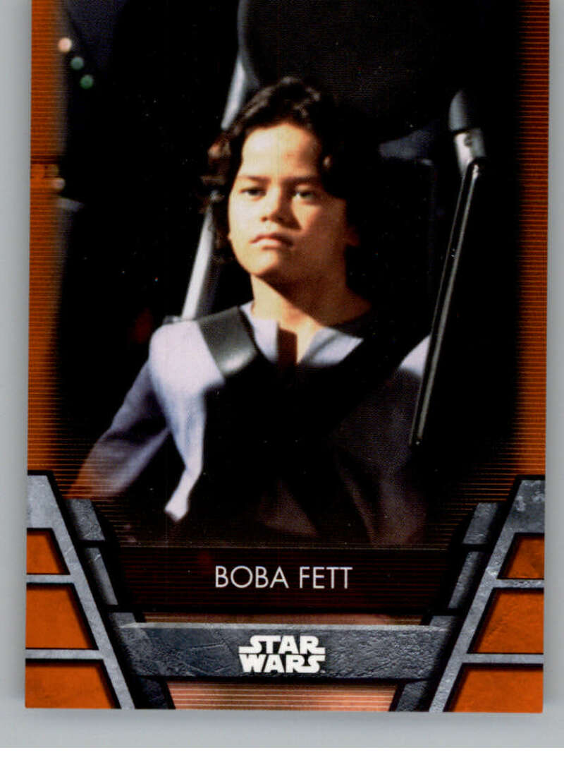 2020 Topps Star Wars Holocron Series Orange