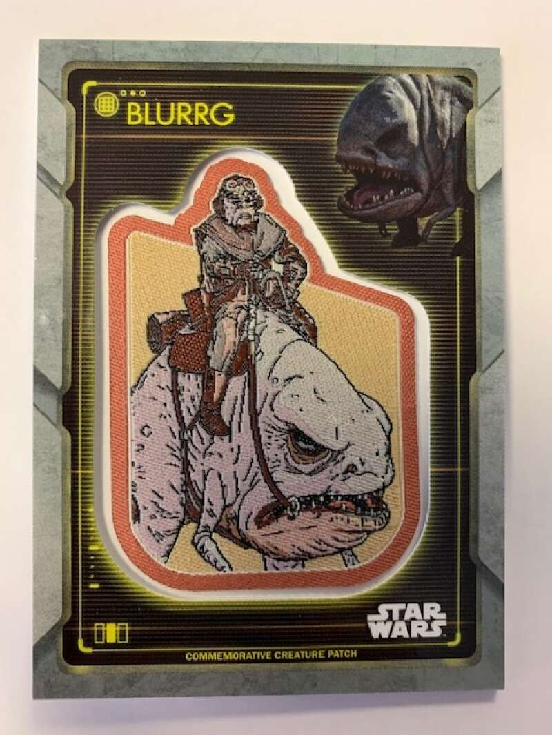 2020 Topps Star Wars Holocron Series Commemorative Creature Patch