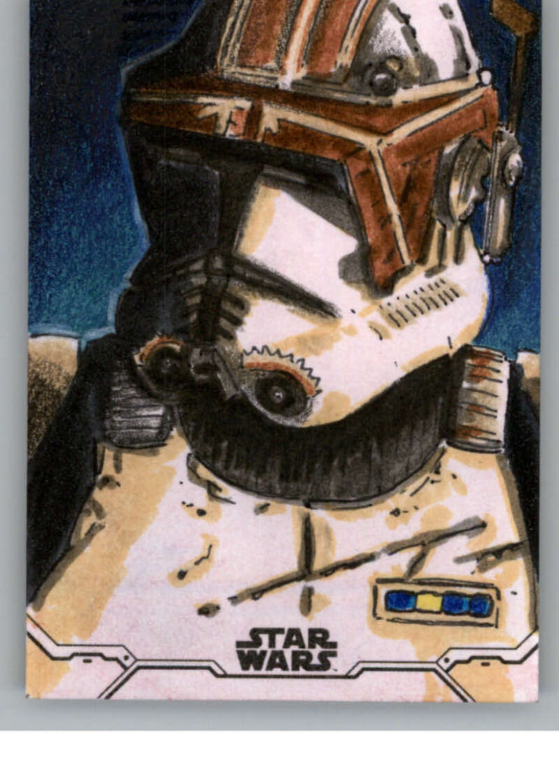 2020 Topps Star Wars Holocron Series Sketch Cards