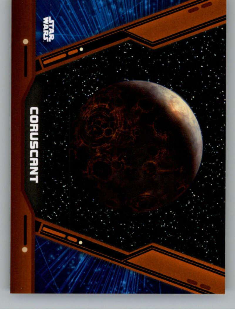 2020 Topps Star Wars Holocron Series Charting the Galaxy Orange