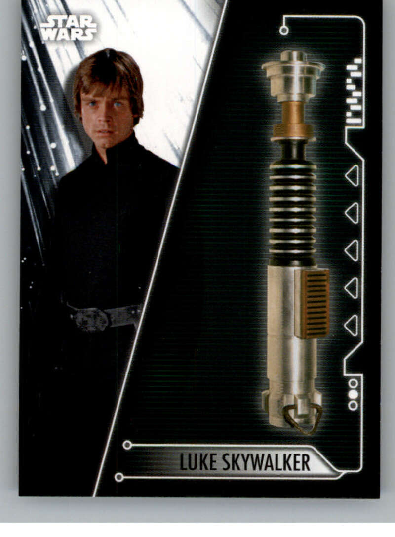 2020 Topps Star Wars Holocron Series Lightsabers of the Jedi