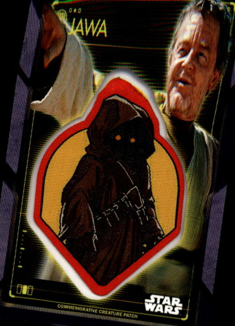 2020 Topps Star Wars Holocron Series Commemorative Creature Patch Purple