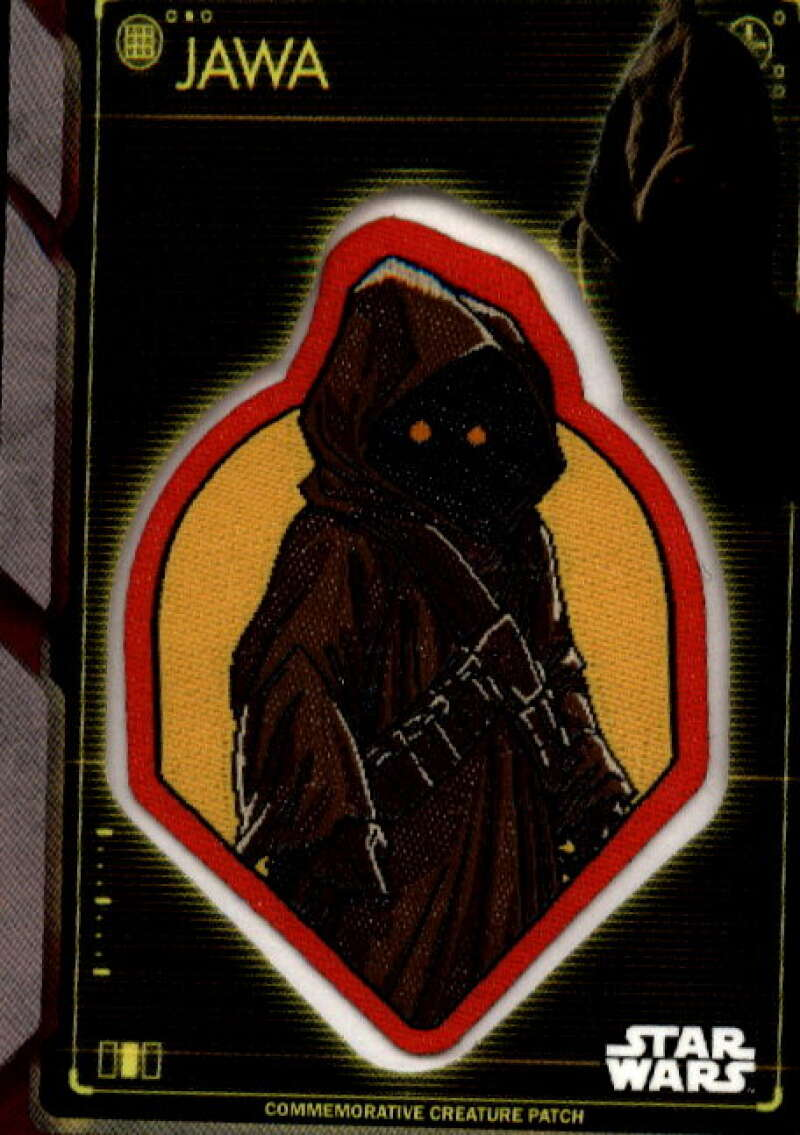 2020 Topps Star Wars Holocron Series Commemorative Creature Patch Red