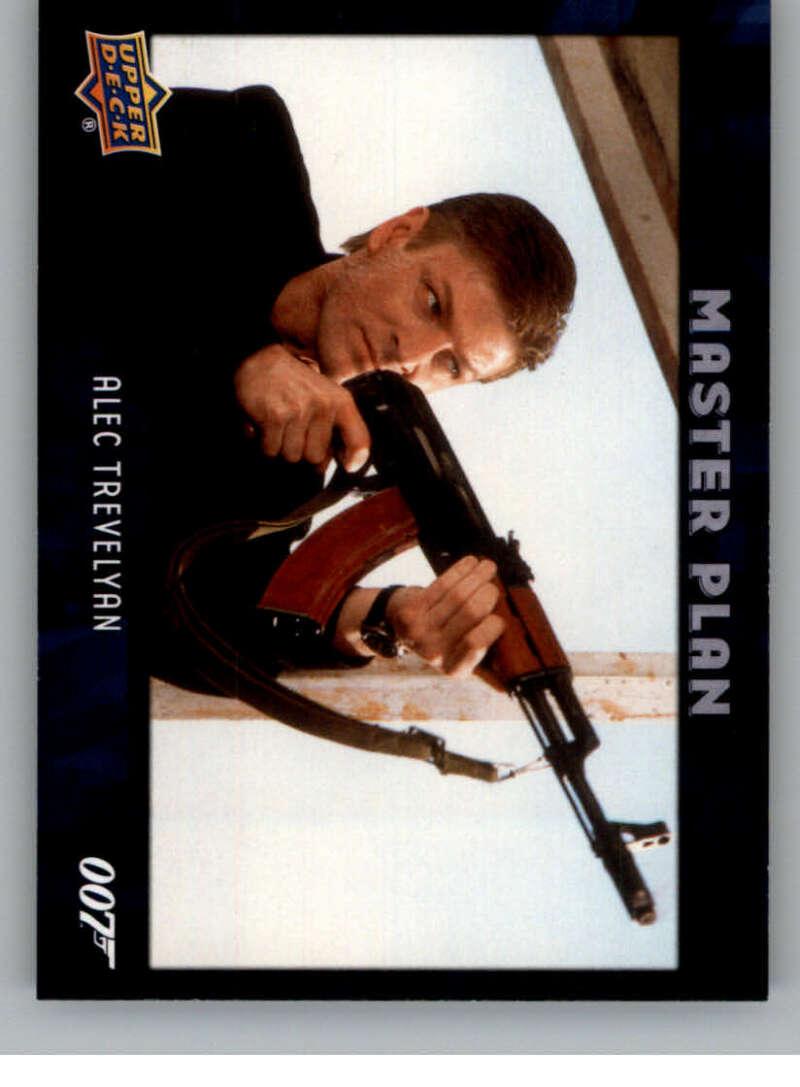 2021 Upper Deck James Bond Villains and Henchmen Master Plan