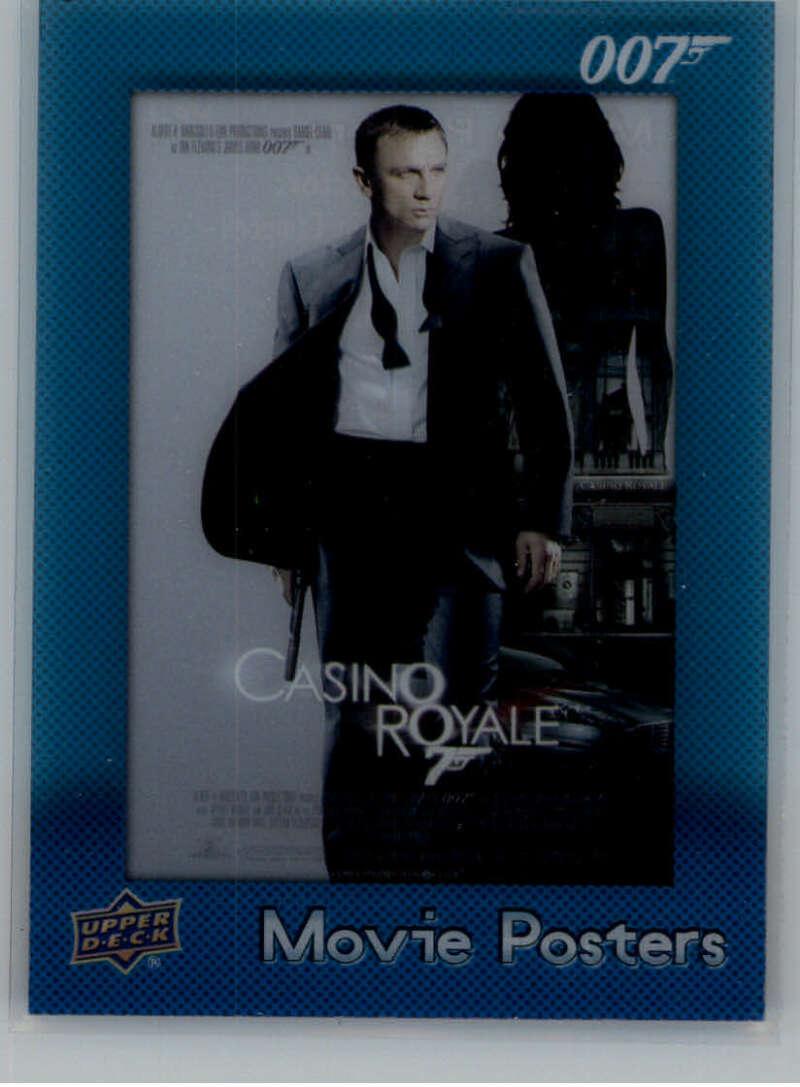 2021 Upper Deck James Bond Villains and Henchmen Movie Posters