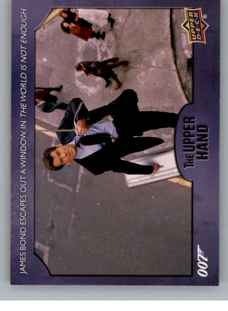 2021 Upper Deck James Bond Villains and Henchmen The Upper Hand