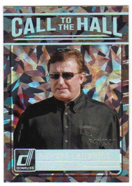 2017 Donruss  Call to the Hall Cracked Ice