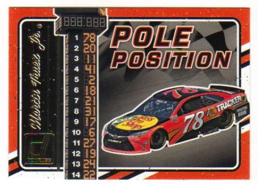 2017 Donruss  Pole Position