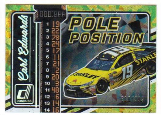 2017 Donruss  Pole Position Cracked Ice