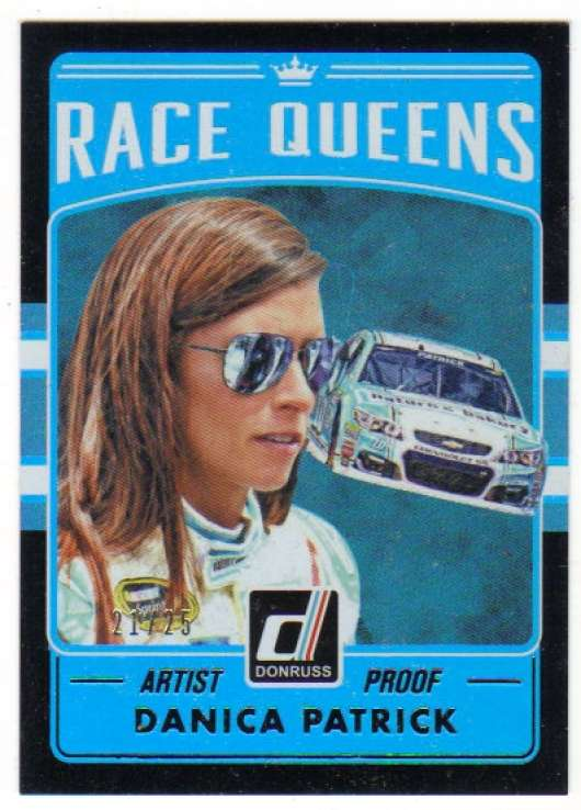 2017 Donruss  Race Kings Artist Proof