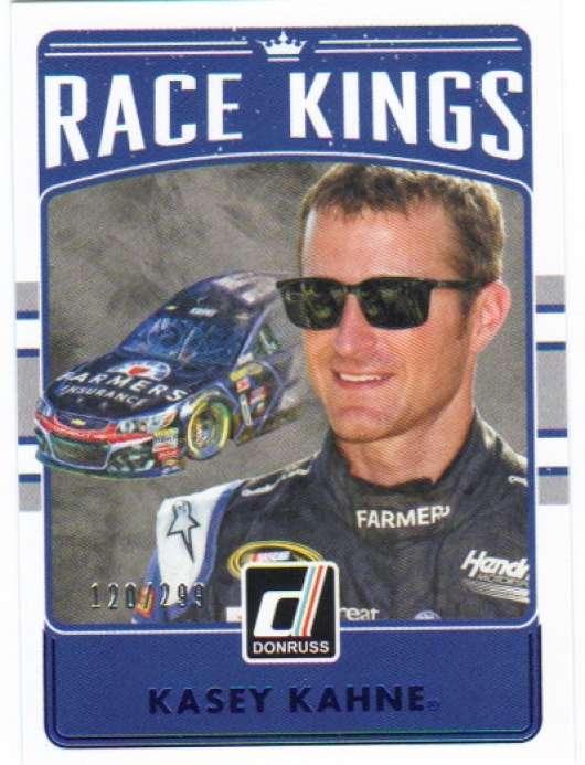 2017 Donruss  Race Kings Blue Foil