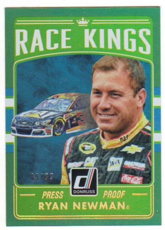 2017 Donruss  Race Kings Gold Press Proof
