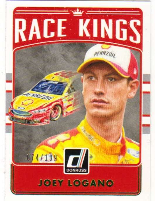 2017 Donruss  Race Kings Green Foil