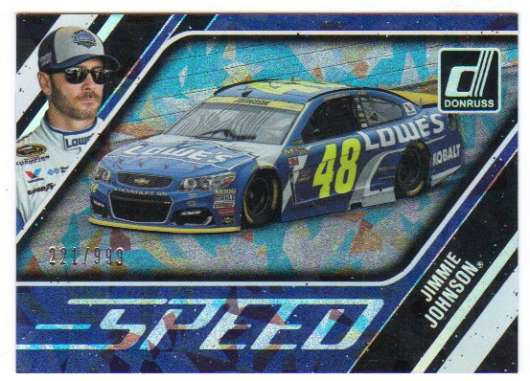 2017 Donruss  Speed Cracked Ice
