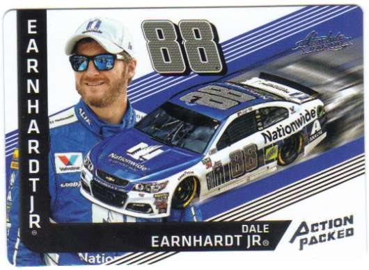 2017 Panini Absolute Action Packed Racing #3 Dale Earnhardt Jr Nationwide/Hendrick Motorsports/Chevrolet  Official NASCAR Trading Card