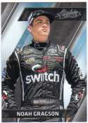 2017 Panini Absolute Racing #88 Noah Gragson Switch/Kyle Busch Motorsports/Toyota  Official NASCAR Trading Card
