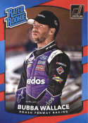 2018 Donruss Racing Rated Rookie #27 Bubba Wallace RC  Official NASCAR Trading Card